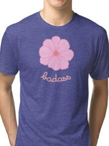 Badass - Pink Cosmos Tri-blend T-Shirt