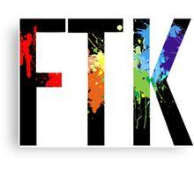 FTK Paint Canvas Print