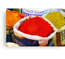Indian Spices Canvas Print