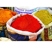 Indian Spices Photographic Print