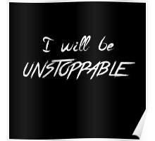 unstoppable -W Poster