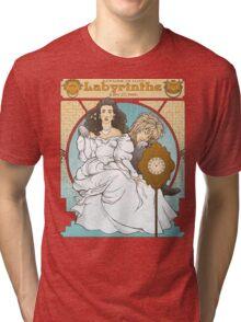 Labyrinthe Tri-blend T-Shirt