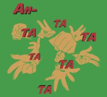 Quotes and quips - ah-tatatatatata One Piece - Short Sleeve