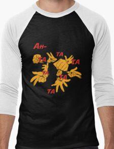 Quotes and quips - ah-tatatatatata Men's Baseball ¾ T-Shirt