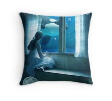 My Imaginary World Throw Pillow