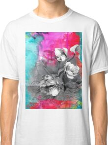 Saturated watercolor Classic T-Shirt