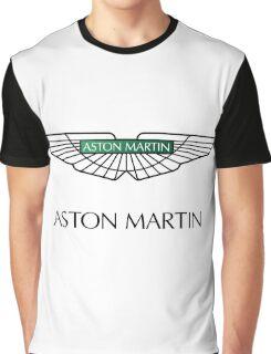 Aston Martin Logo Graphic T-Shirt