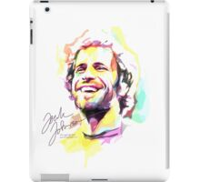 Jack Johnson in Watercolor iPad Case/Skin