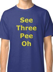 Phonetic C-3PO Classic T-Shirt