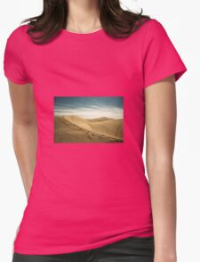 The Sand Dunes of Maspalomas  Womens Fitted T-Shirt