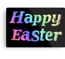 Happy Easter Metal Print