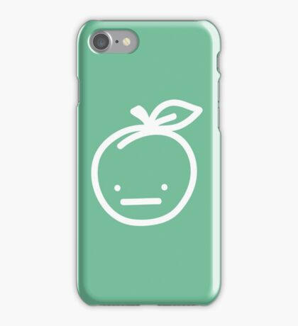 Pickle the Salted Peach iPhone Case/Skin