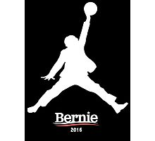 Bernie Sanders Jumpman - Slam Dunk Photographic Print