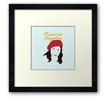 Moonrise Kingdom is Suzy Bishop Framed Print