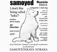 Samoyed. FAQ. Unisex T-Shirt