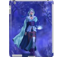 The nymph of the blue forest iPad Case/Skin