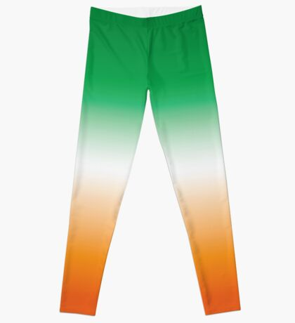 Green, White and Orange (Ireland) Leggings