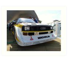 Audi Quattro Group B WRC Art Print