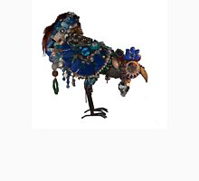beautiful big blue blinged bird Unisex T-Shirt
