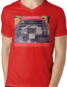 Ferrari F40 Engine Mens V-Neck T-Shirt