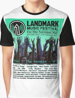 Landmark Music Festival Line up 2015 Graphic T-Shirt