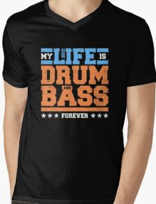 My Life is Drum and Bass 2 Mens V-Neck T-Shirt