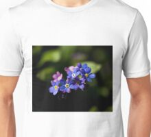 Forget-me-not flowers Unisex T-Shirt