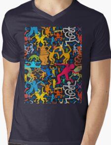 letsdance Mens V-Neck T-Shirt
