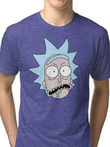 Rick and Morty - Rick Sanchez Tri-blend T-Shirt