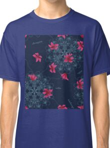 Seamless pattern abstract flower ornament Classic T-Shirt