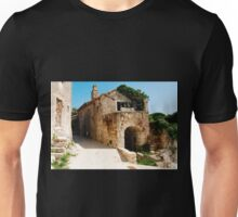 Buildings in Pican Unisex T-Shirt