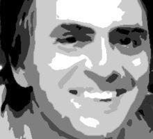 "Carl Sagan ""Cosmos"" Sticker Sticker"