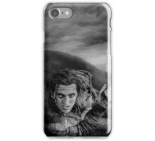The 100 - John Murphy (b/w) iPhone Case/Skin