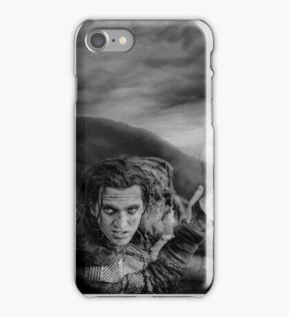 The 100 - John Murphy (b/w) iPhone Case/Skin