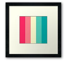 Ice Cream layer cake Framed Print