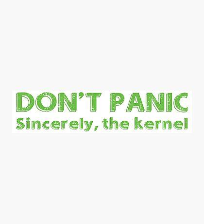Kernel panic Photographic Print