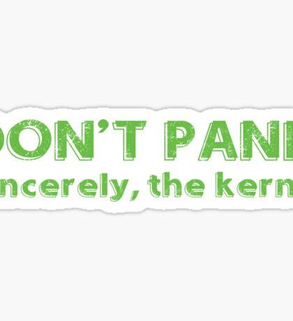 Kernel panic Sticker