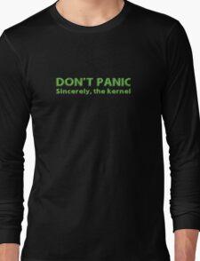 Kernel panic Long Sleeve T-Shirt