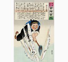 Japan Splits The Russian Torpedo Fleet - Kiyochika Kobayashi - 1904 - woodcut - Currier & Ives Unisex T-Shirt