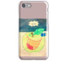 Apples cartoon iPhone Case/Skin