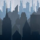 Metropolis by Illustrationetc