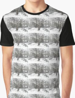 SNOW SCENE 7 Graphic T-Shirt