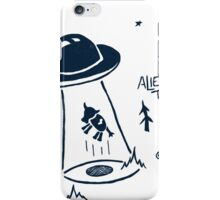 Alien Take Away iPhone Case/Skin