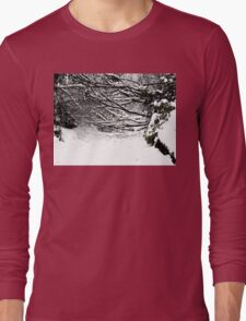 SNOW SCENE 5 Long Sleeve T-Shirt
