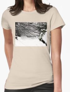 SNOW SCENE 5 Womens Fitted T-Shirt