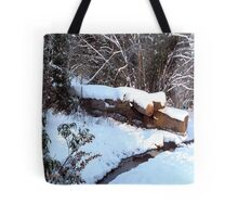 SNOW SCENE 9 Tote Bag
