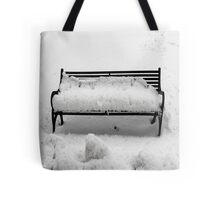 SNOW SCENE 8 Tote Bag