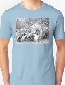 SNOW SCENE 4 Unisex T-Shirt