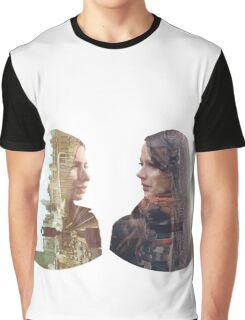 Person of Interest - Shaw & Root -  Face to Face Graphic T-Shirt