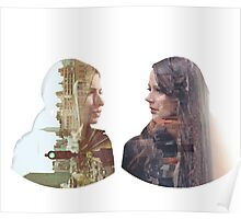 Person of Interest - Shaw & Root -  Face to Face Poster